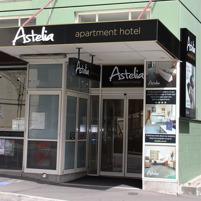 ASTELIA APARTMENT HOTEL $$   Basic apartments furnished with everything you need while at  INVOLVE .  Quote ' INVOLVE ' for discounted rates starting at $143 per night, down from $183 per night.  500m from the Michael Fowler Centre.