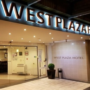 WEST PLAZA HOTEL $$   All the comfort of a hotel with the convenience of being right across the road from  INVOLVE !  Rooms from $178 per night.  62m from the Michael Fowler Centre.