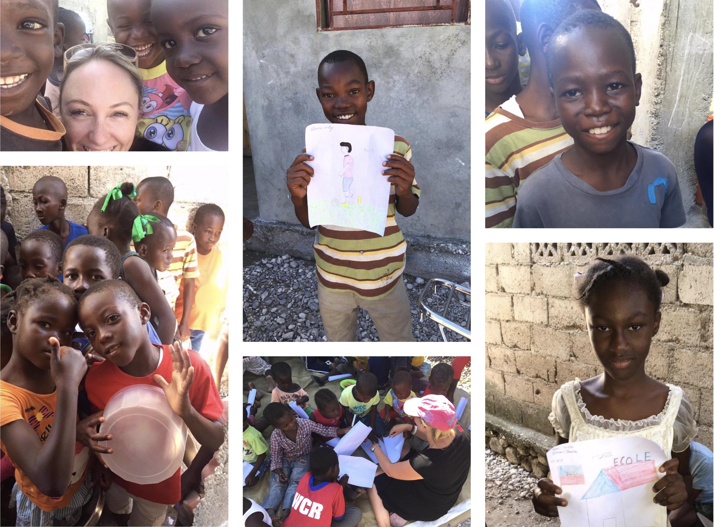 colour our story haiti