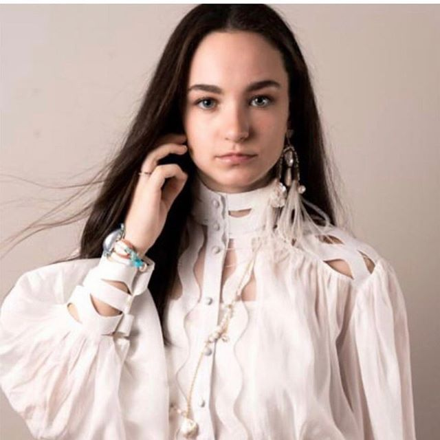 The stunning @printemps_ete_jewels paired with @zimmermann = perfection  @printemps_ete_jewels available for showings now.
