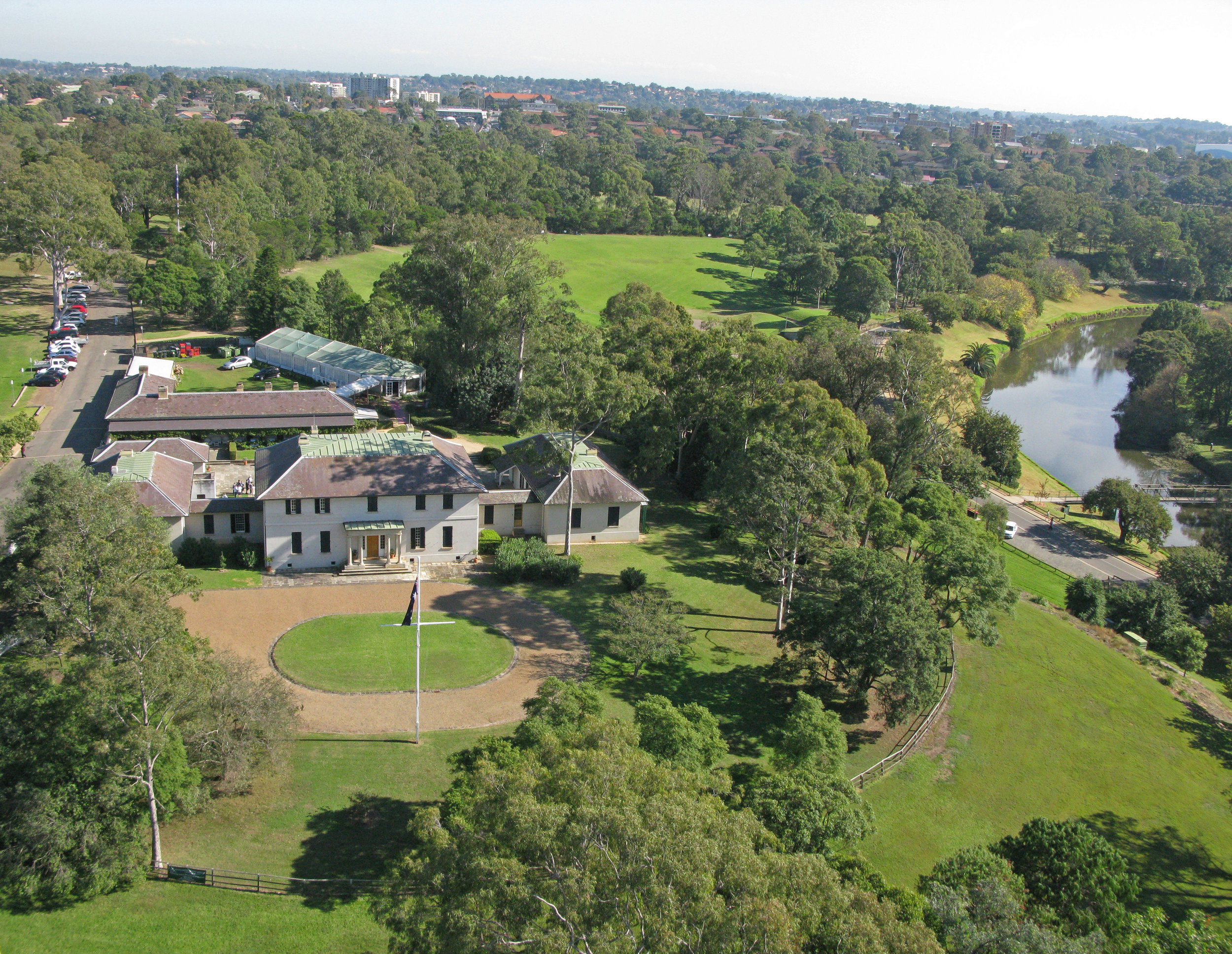 Parra Park aerial shot showing OGH.JPG