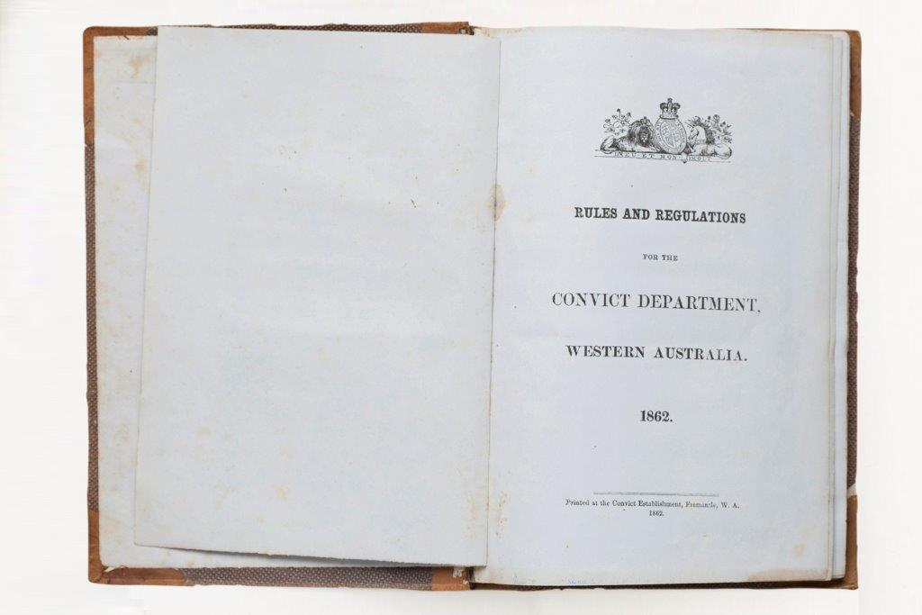 1862 Rules and Regulations