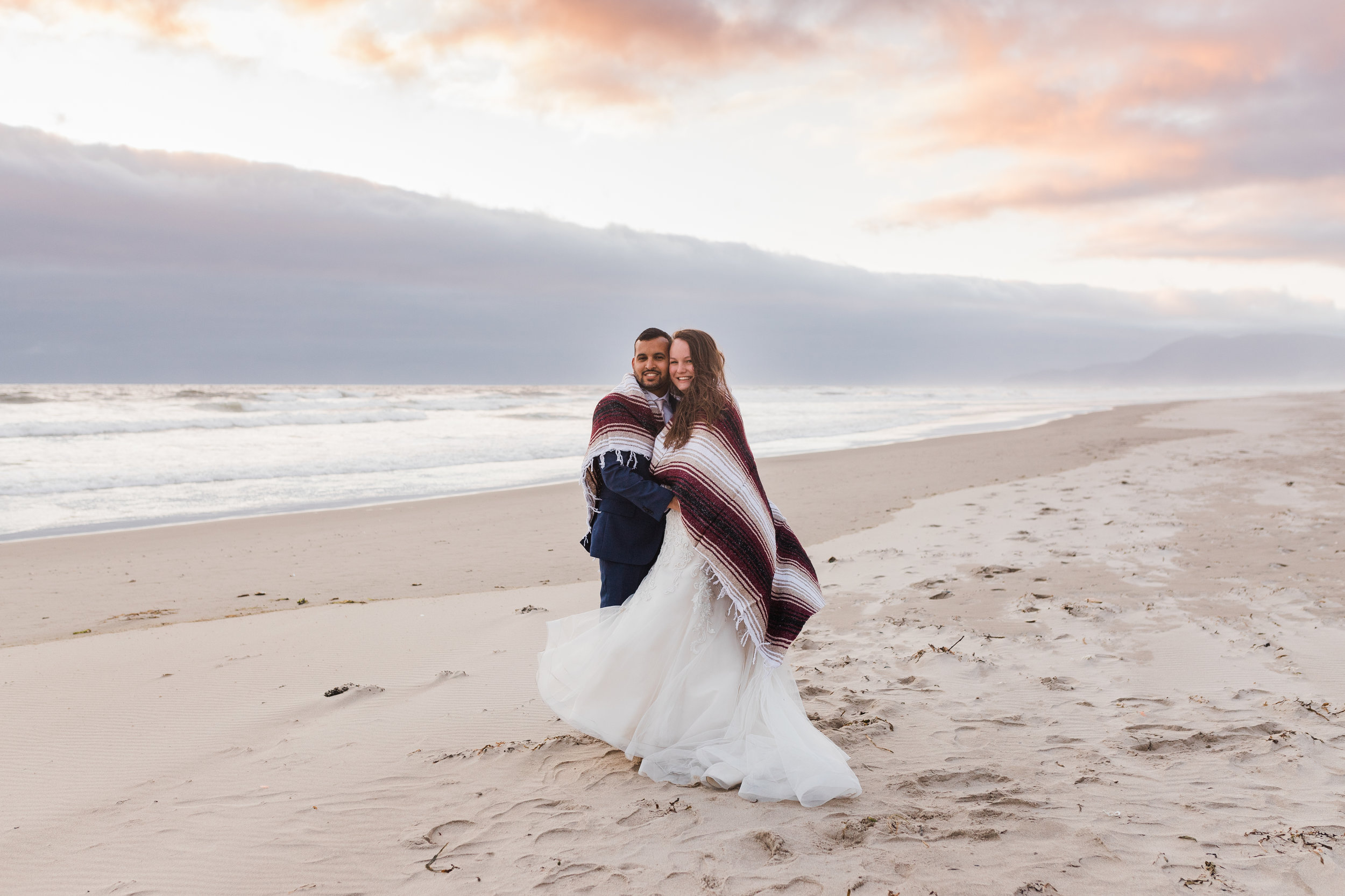 Morgan & Juan - Beach Bridals