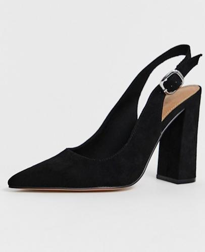 ASOS slingback heels, $70