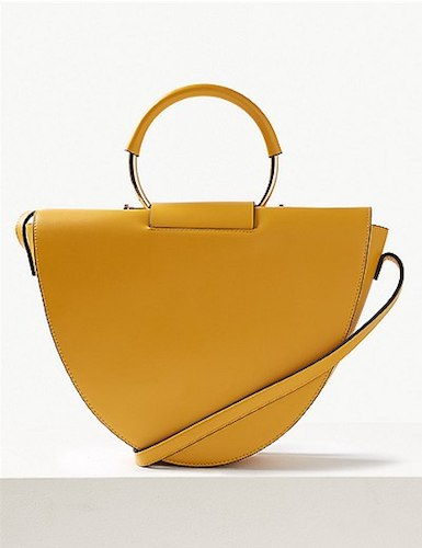 Marks & Spencer faux leather tote, $75