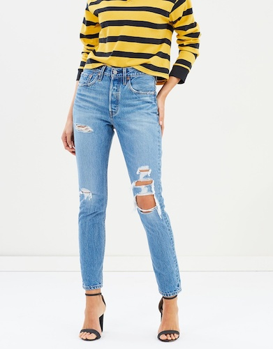 LEVI'S 501 Skinny Jeans, $149.95