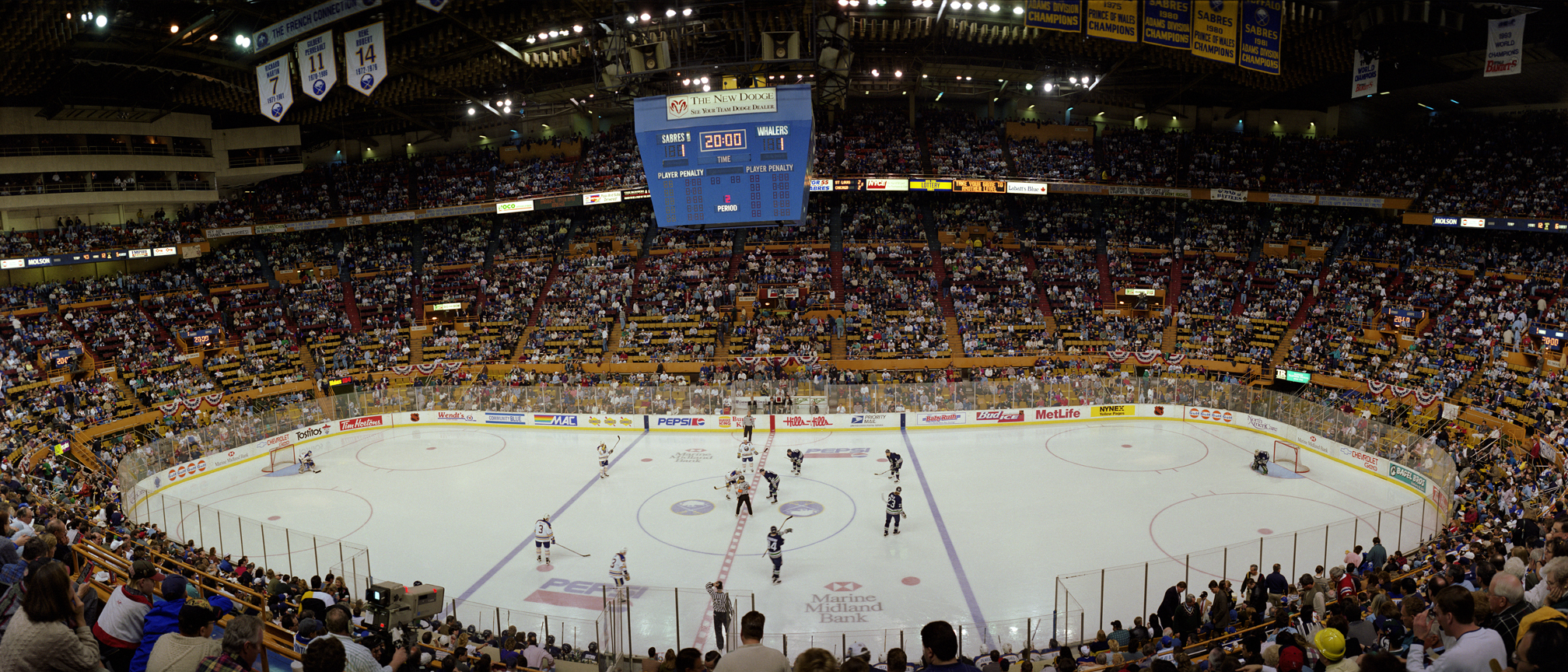 Buffalo Sabres vs. Hartford Whalers April 14, 1996