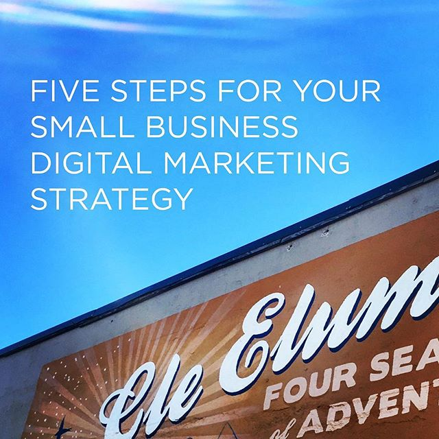 ⚡️When running a small business, you have a lot to manage. . ✍🏼 Your digital marketing strategy should be streamlined and simple, making it one less thing to juggle. . 🔗 Check out the link in our bio for tips on how to create a successful small business digital marketing strategy. . . . #DigitalMarketing #Social #CleElum #WA #PNW #SocialStrategy #Marketing #SmallBusiness