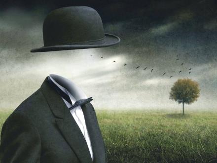Magritte was here - Ben Goossens