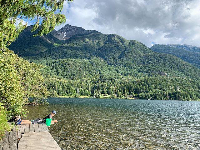 🎣🌲☀️♥️ #fishing #camping #lakeside #myloves #summer2019 #beautifulbc #explorebc #intothewoods #vanlife #views😍 #greatwhitenorth