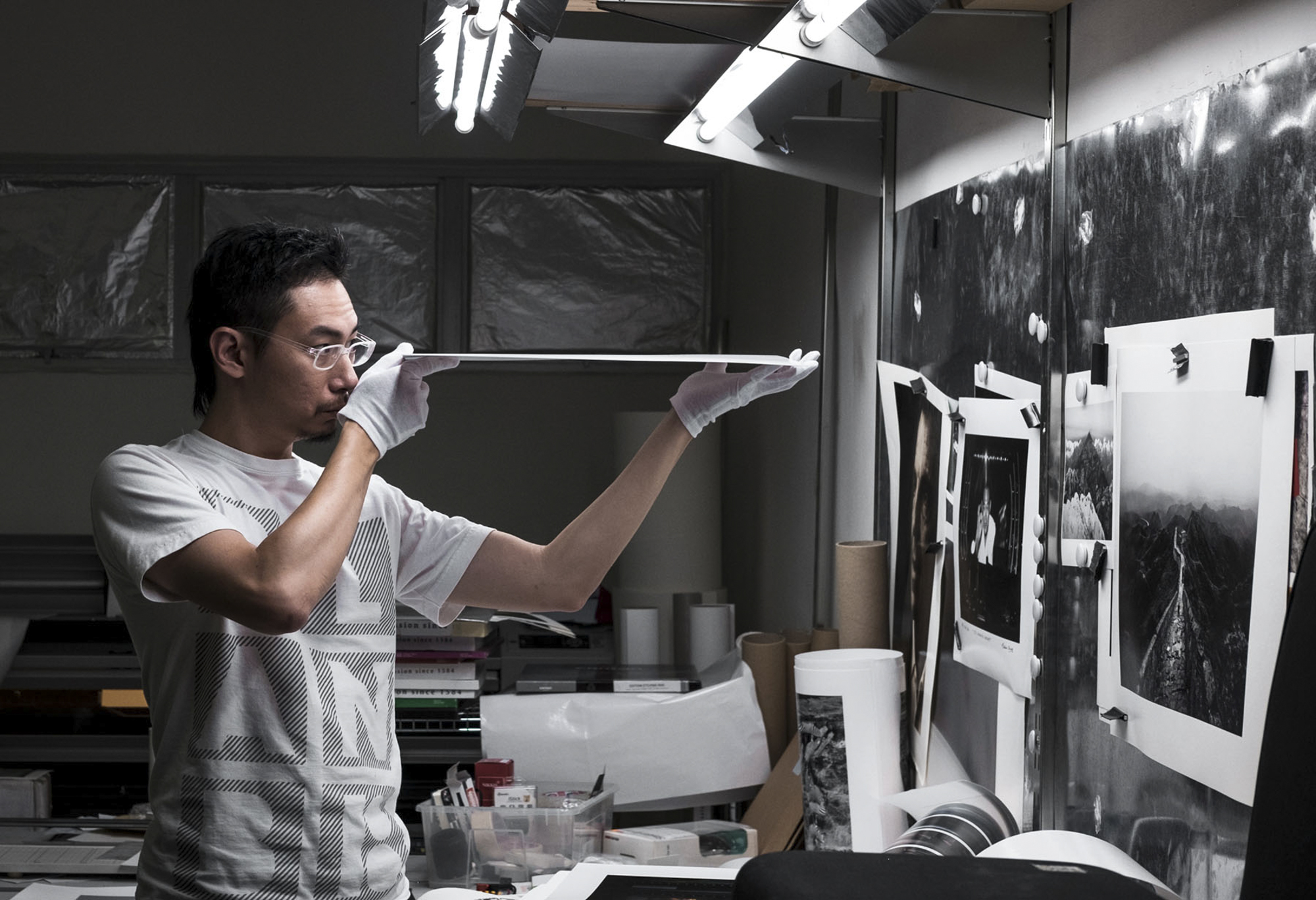 the art of printing - James Tan