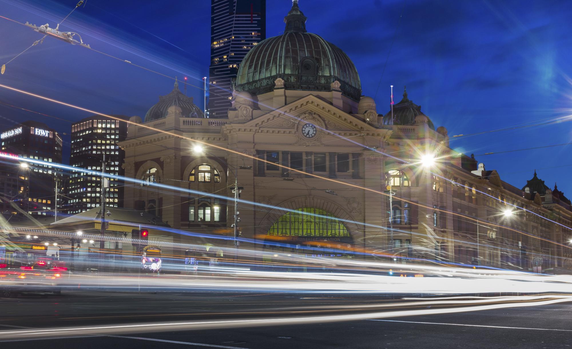 Flinders Street Railway Station. Melbourne, Australia 2018.  ©  Danny Imson. Leica CL, Leica Summicron-TL 23mm F/2 ASPH