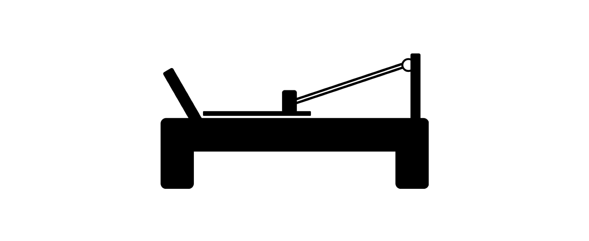 Reformer Icon / Logo - Bay City Health Group Osteopathy & Pilates Geelong