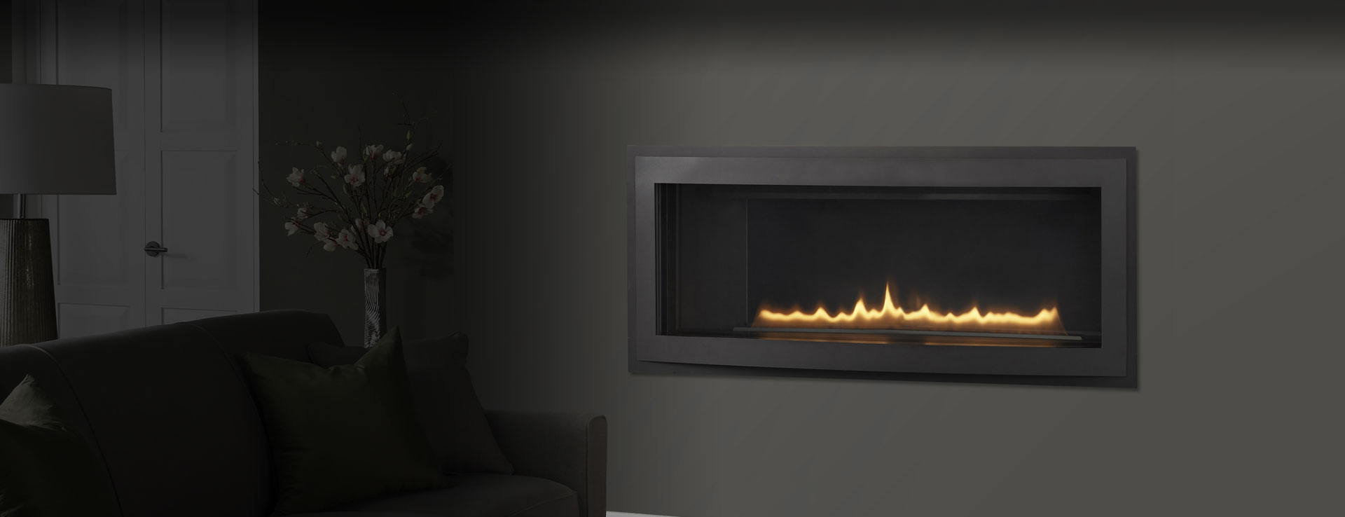 Heatilator Rave Series gas fireplace, available at Ferguson's Fireplace & Stove Center in Traverse City, Michigan.
