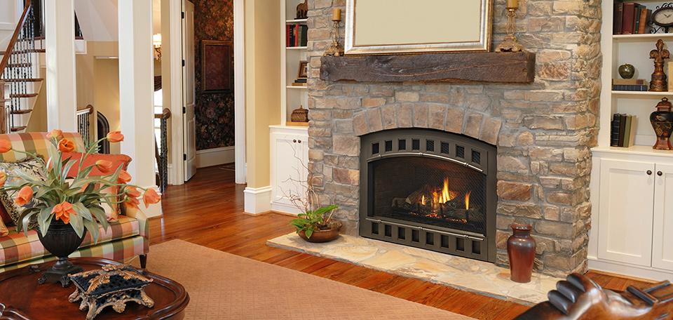 Heatilator Caliber and Caliber nXt Series gas fireplace, available at Ferguson's Fireplace & Stove Center in Traverse City, Michigan.