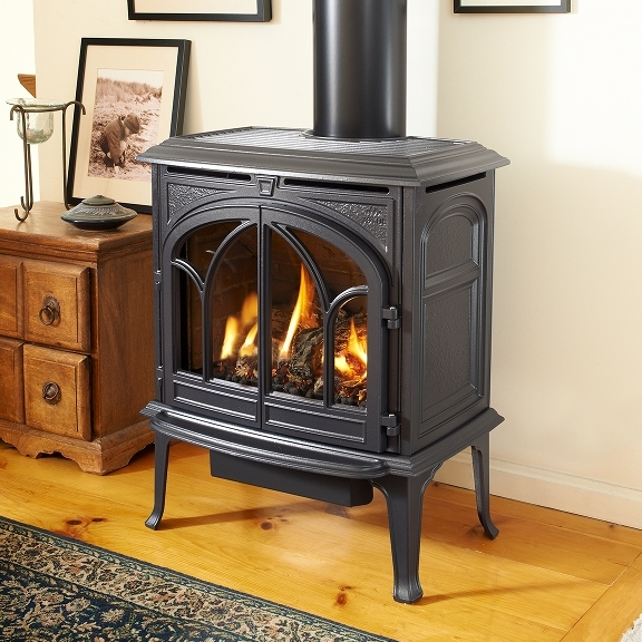 Gas Burning Stoves -