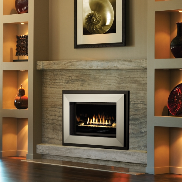 Gas Burning Fireplaces -
