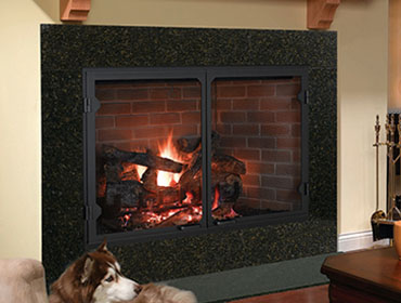 Heatilator fireplace, insert, and stove products available in Northern Michigan.