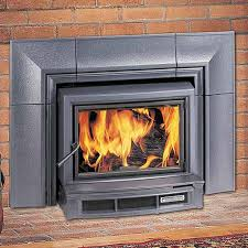The HearthStone Morgan 8470 wood insert is available at Ferguson's Fireplace & Stove Center.