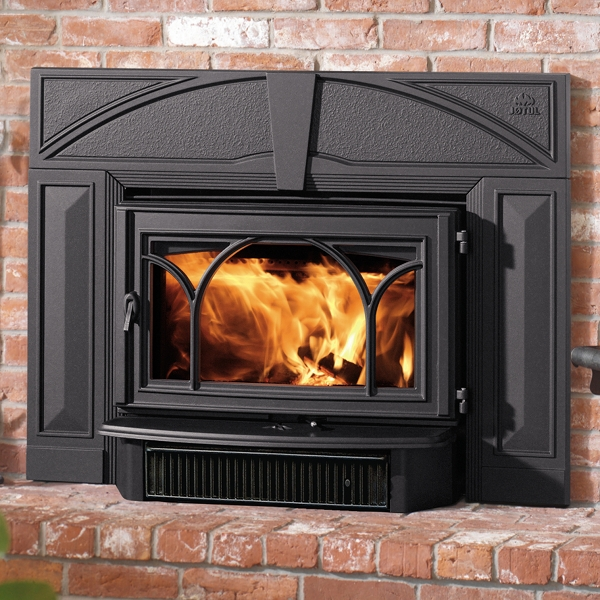 The Jotul C 450 Kennebec wood insert is available at Ferguson's Fireplace & Stove Center.