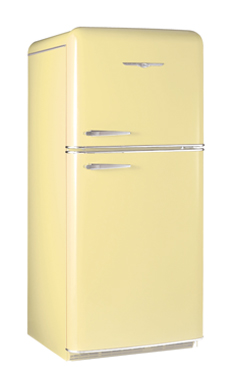 Model 1952 18.2 Cu. Ft. Top Freezer Shown in Buttercup Yellow
