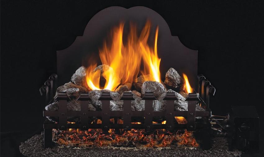 Designer Old English Coal Grate - PRODUCT SIZES: 18
