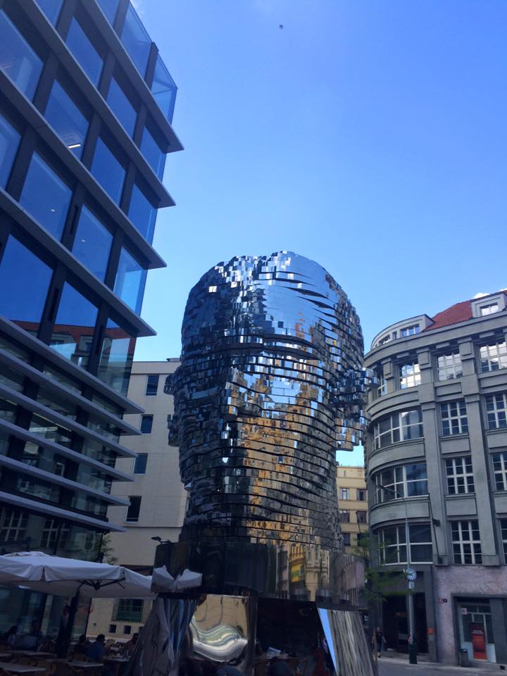 Kafka Head, Prague