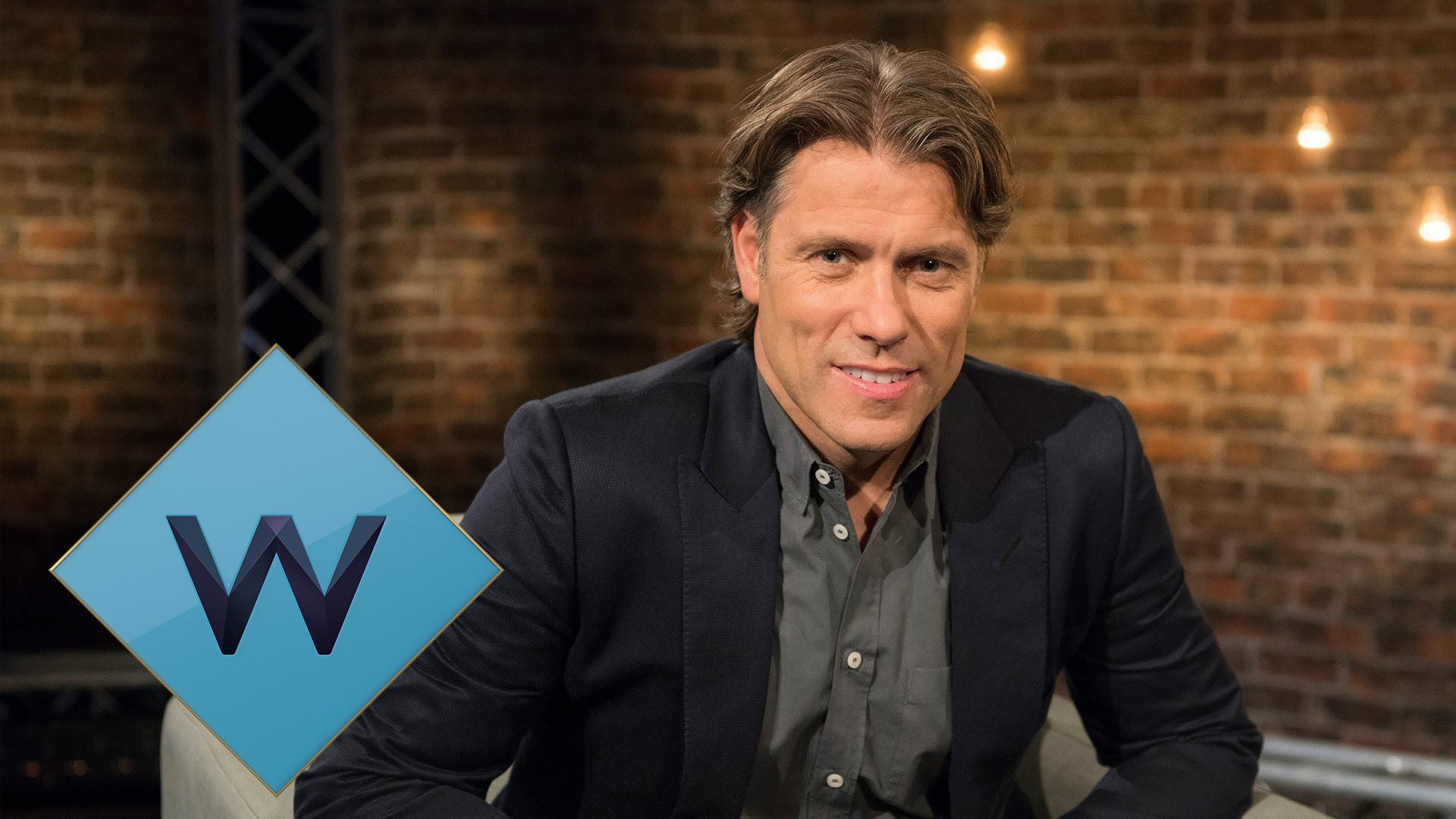 John Bishop In Conversation With... (Series 1-4)   W - UKTV / Lola Entertainment   Comedian John Bishop swaps the mic for the interview chair in this UKTV original series on W. The series showcases John's unique approach to interviewing as he gets his high profile guests to open up and talk candidly about their lives and careers. The intimate and insightful chats reveal the person behind the public persona, giving us one of the freshest and most revealing chat shows on British television.