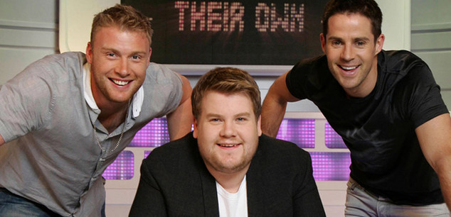 A League of Their Own (Series 1-4)    Sky One HD / CPL Productions   Two teams comprised of comedians, celebrities and sports stars compete against each other in a test of their sporting knowledge. Presented by James Corden.