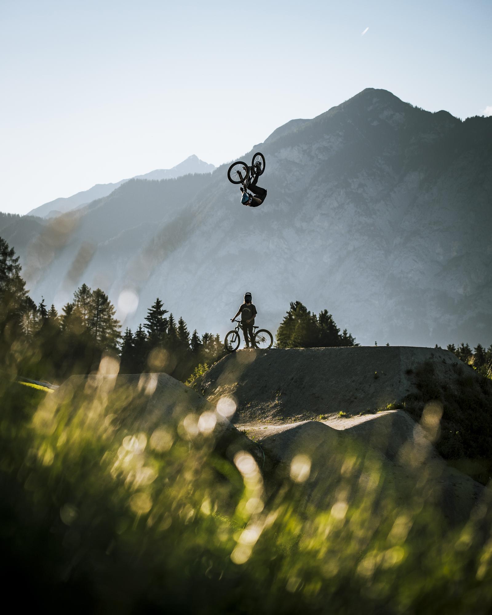 Brett Reeder taking flight