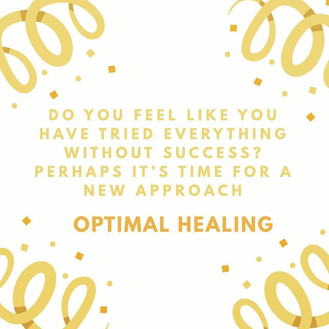 #optimalhealing