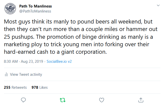 Most guys think its manly to pound beers all weekend, but then they[...].png