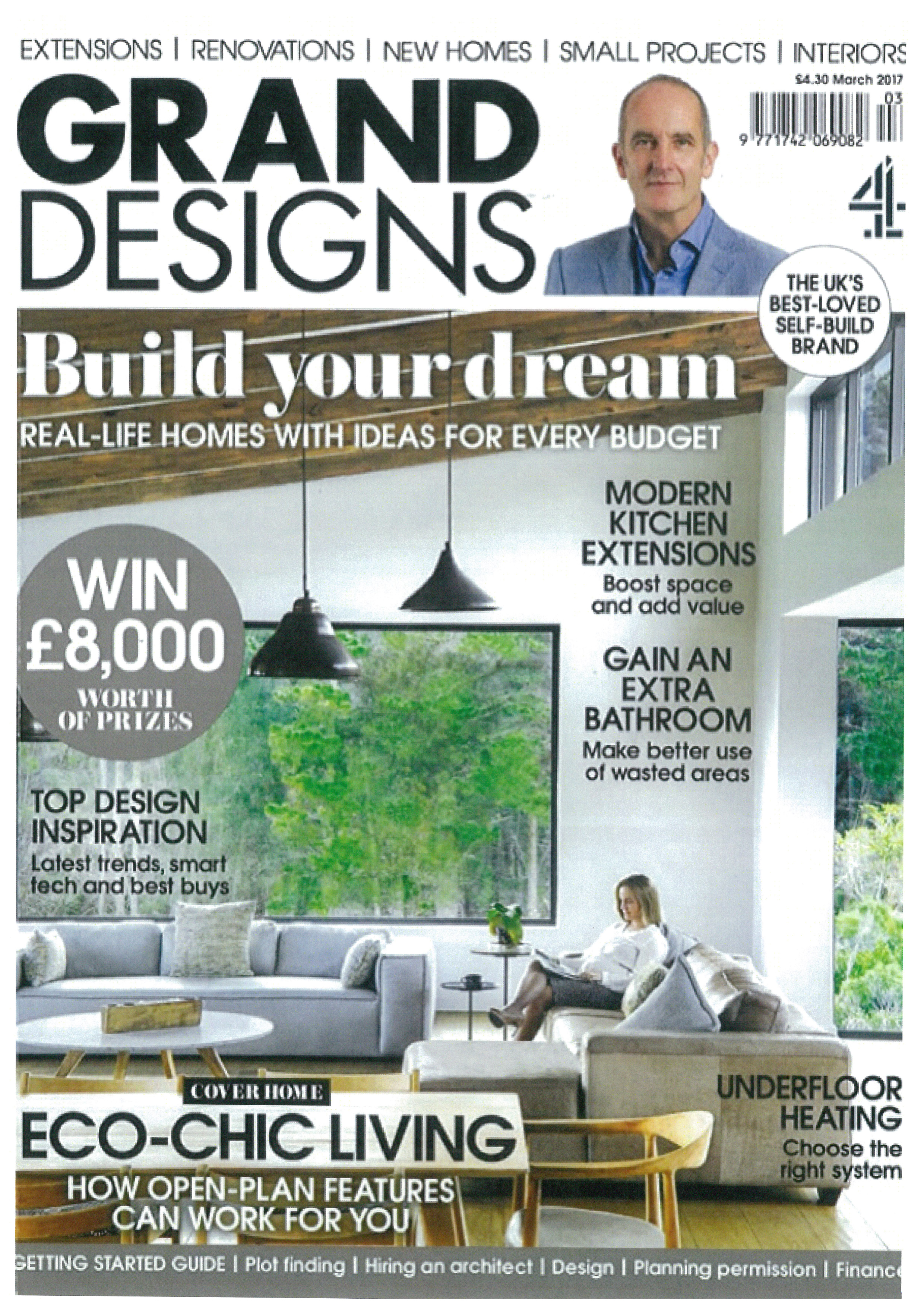Grand Designs Magazine, 2017