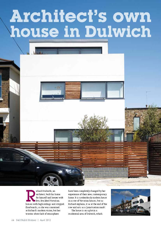 Self Build Homes, 2012