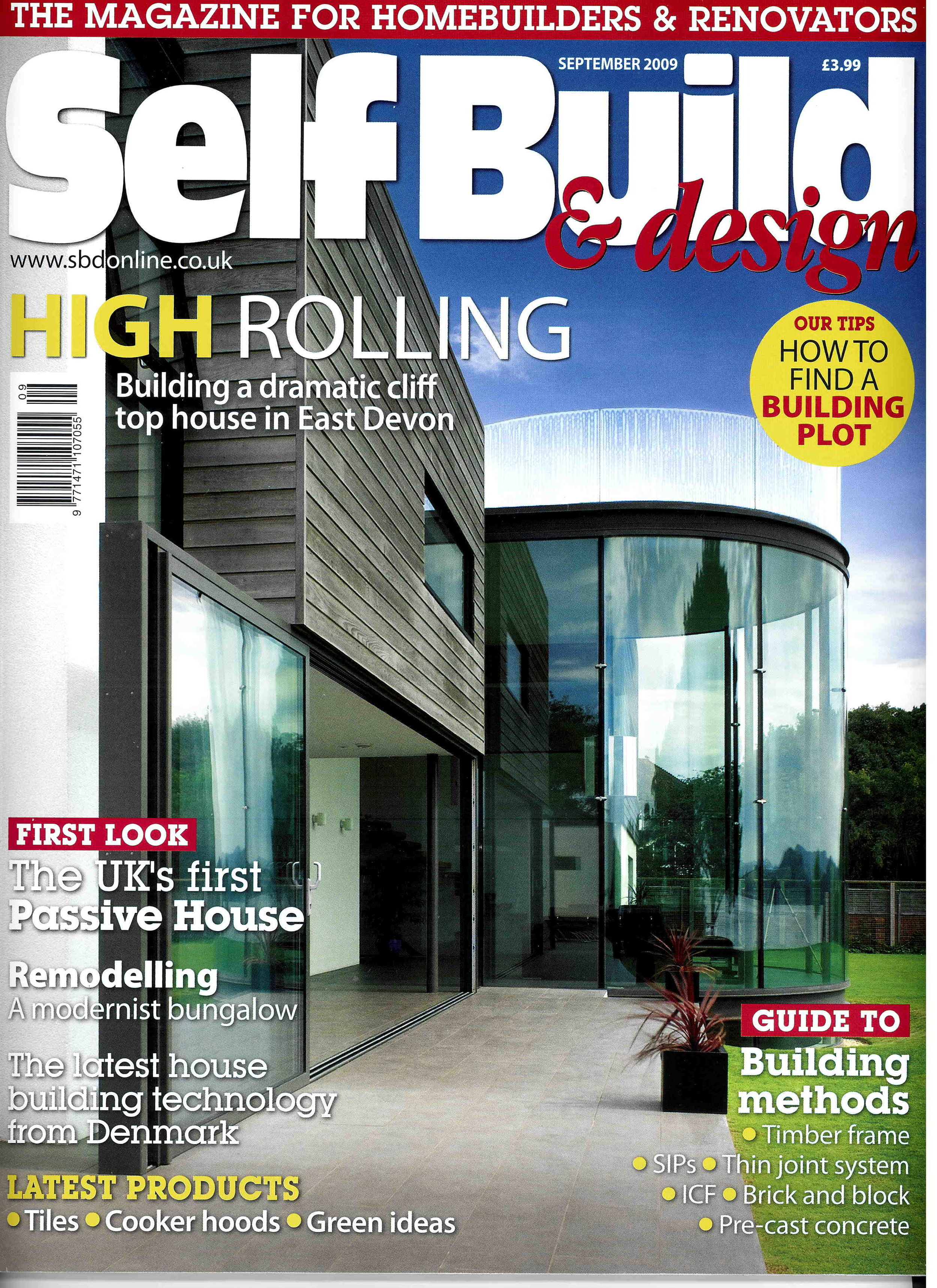 Self Build & Design, 2009