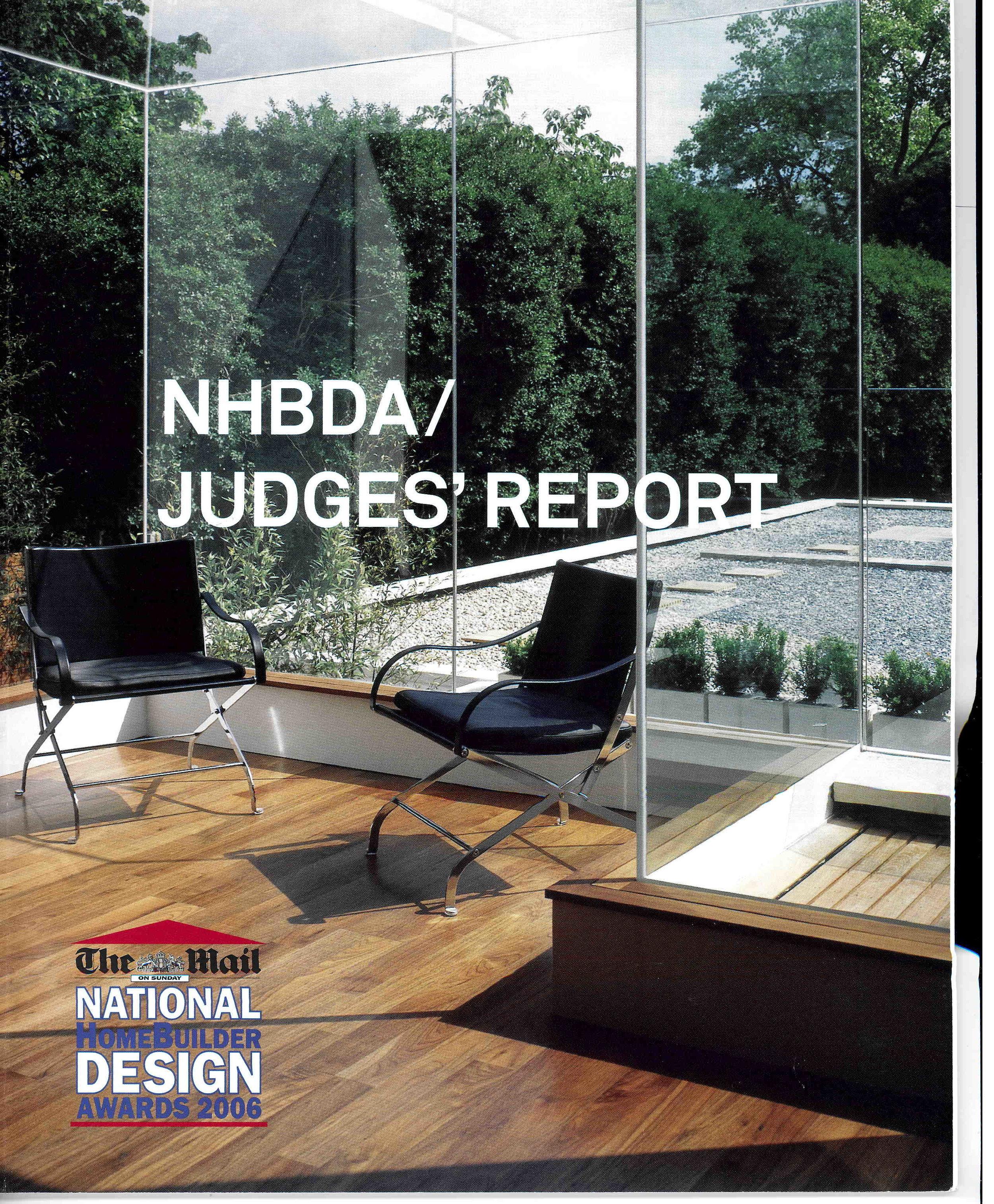 National Homebuilder Awards, 2006
