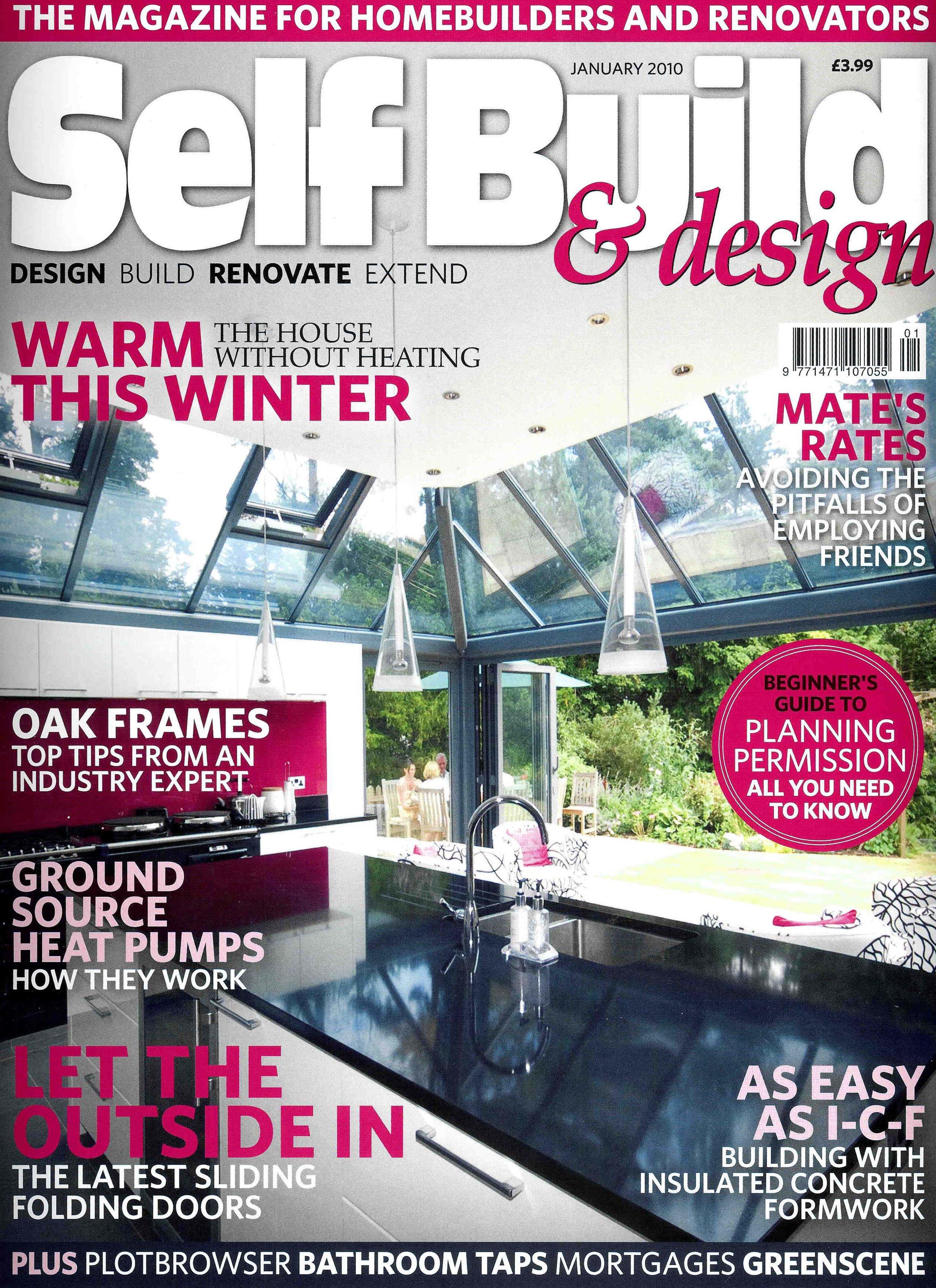 Self Build & Design, 2010