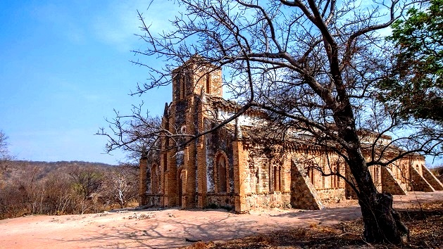 Lake Shore Lodge Tz - Lake Tanganyika - Activities - Walks to the old Kipili church - view from the north west - photo from Heiner Meyer.jpg
