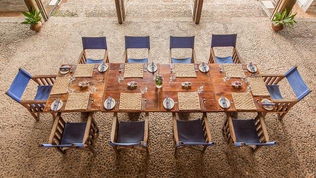 Lake Shore Lodge Tz - Lake Tanganyika - Restaurant inside.jpg