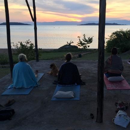 Lake Shore Lodge Tz - Lake Tanganyika - Yoga and meditation.jpg