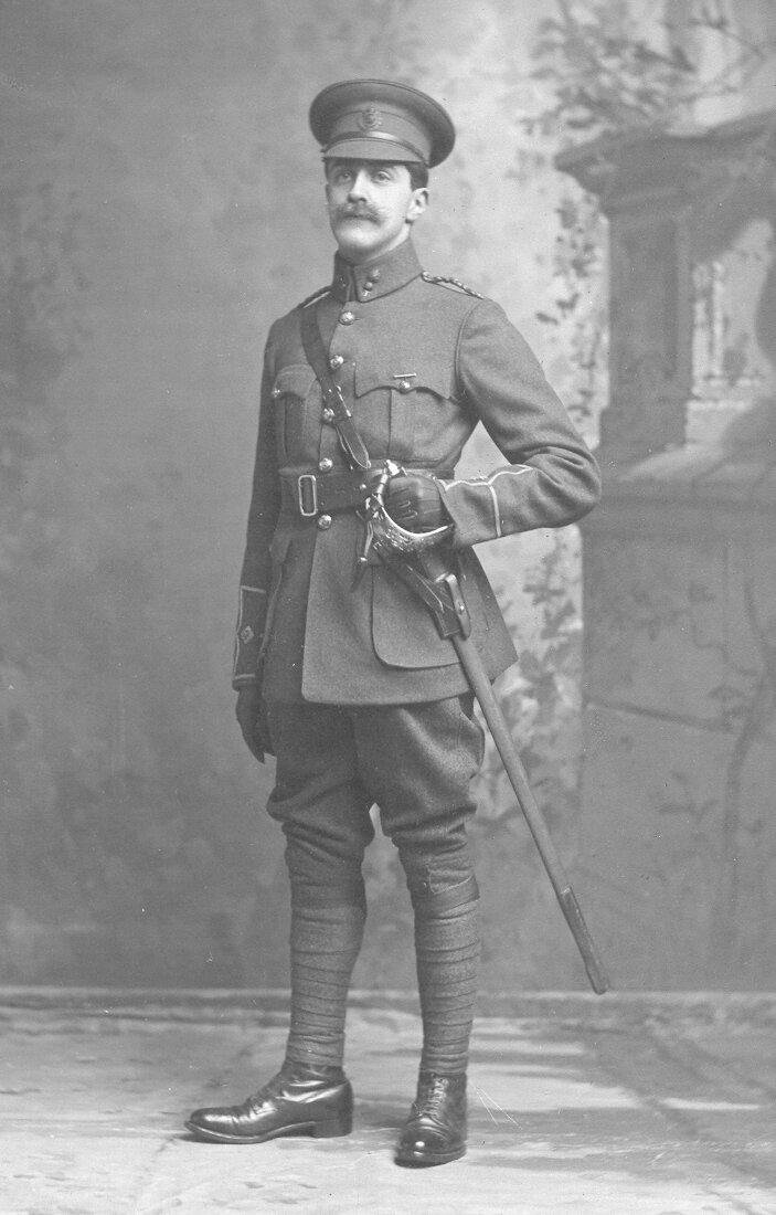 Captain Reginald Salomons. Photo credit: Salomons Museum