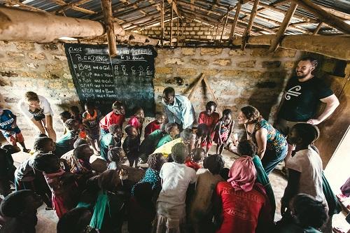 Rural school in Sierra Leone