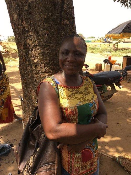 Social worker in Africa