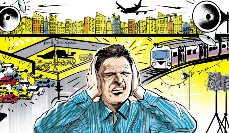 Noise Pollution NYC Source:  http://bit.ly/2mSbLuF