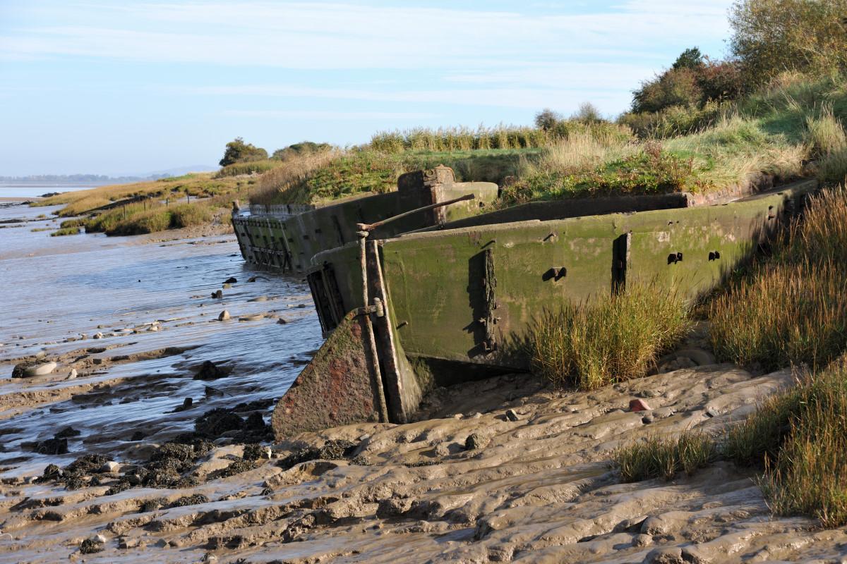 Mark Baker  Purton, ship graveyard