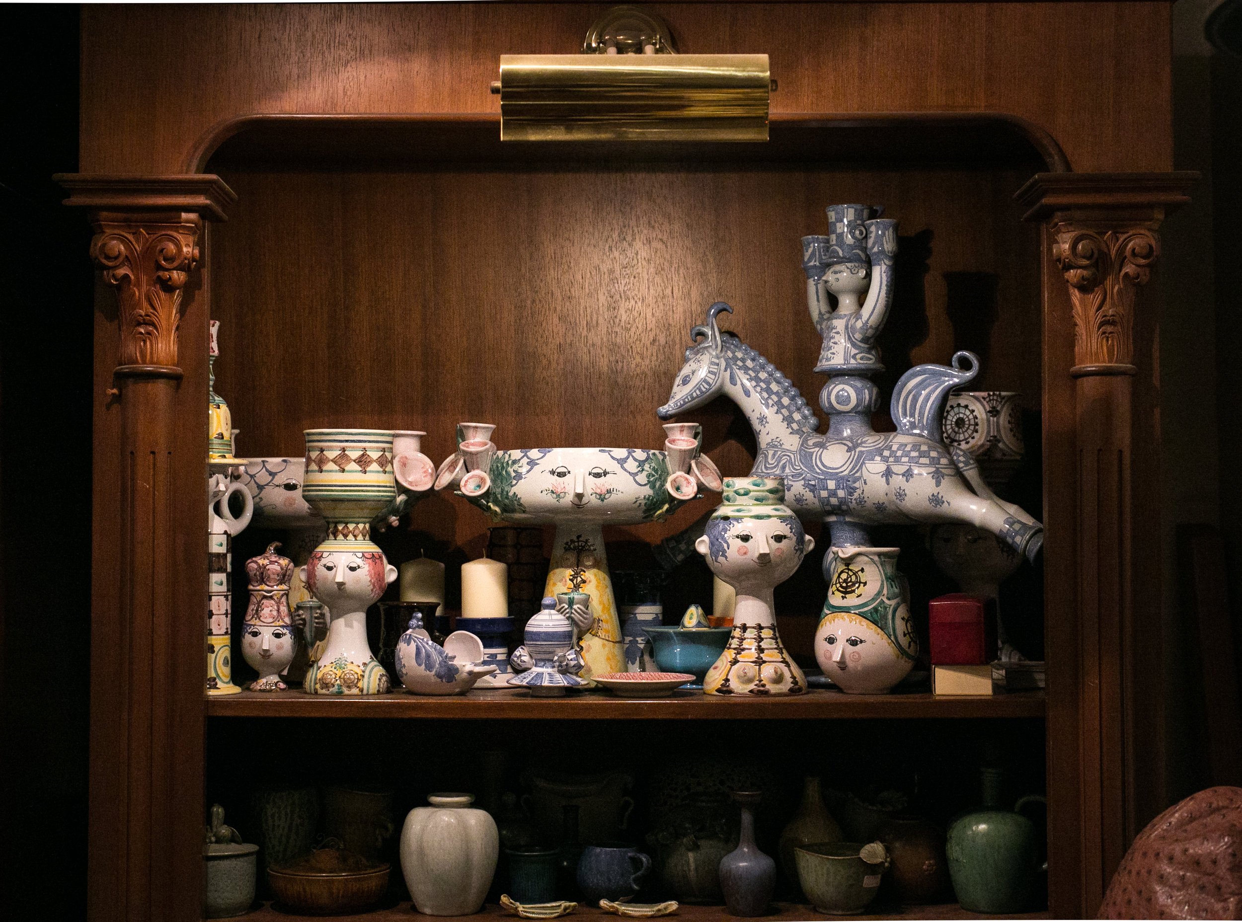 I en butik i Ginza-kvarteret i Tokyo, 2016. Foto: Ari Zelenko
