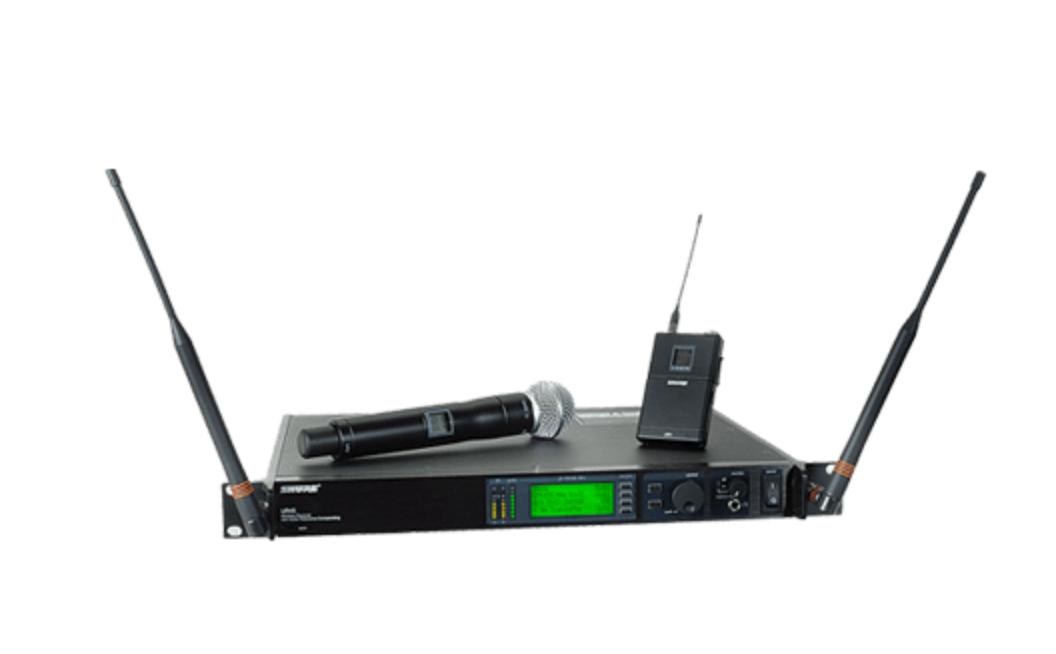 Shure UHF-R Professional Wireless Mic System