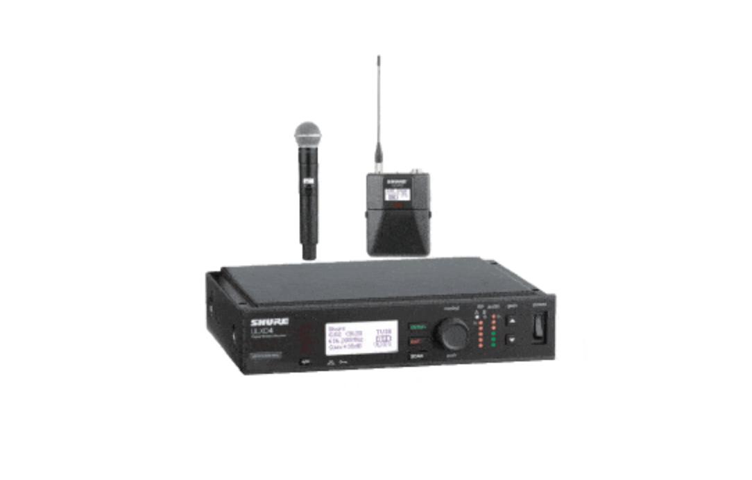 Shure ULXD4 Digital Wireless Mic System