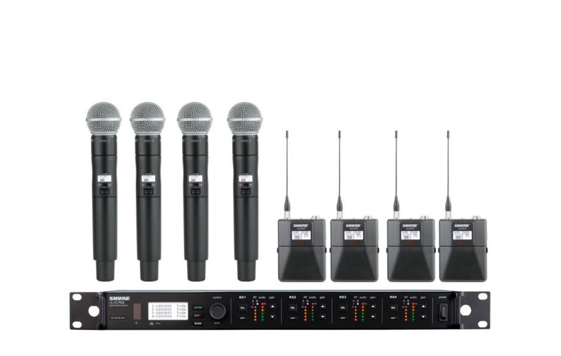 Shure ULXD4Q Digital Wireless Mic System