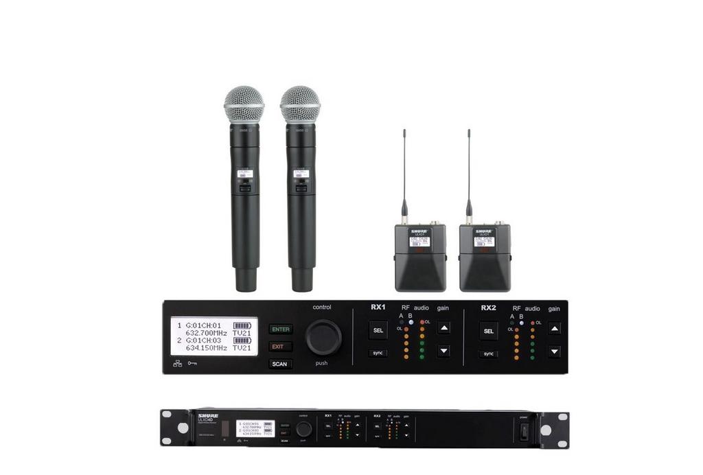 Shure ULXD4D Digital Wireless Mic System